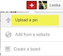 Upload A Pin - Pinterest Optimisation Tips
