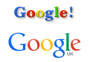 Google Logos - Then and Now