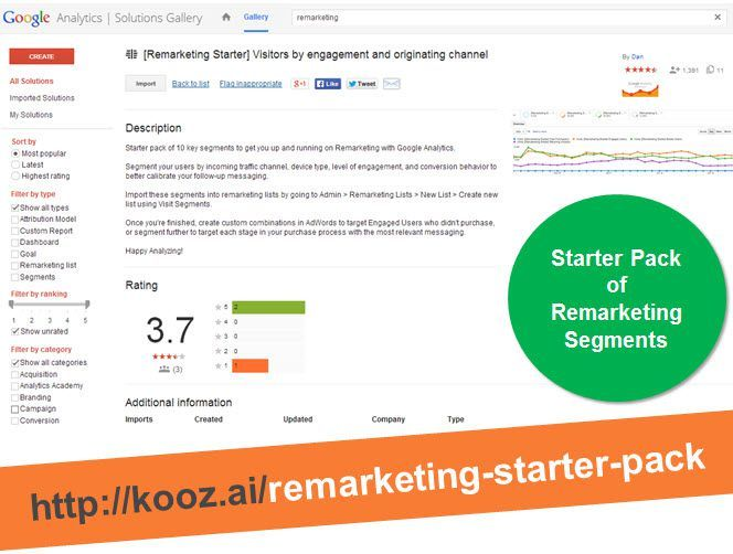 Remarketing Starter Pack